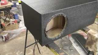 t line sub box build part 2 for alpine type r