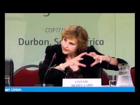 COP17 - EU Press Conference Friday 9th 2011