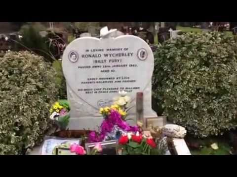 Billy Fury Graveside Tribute By Michael Parkinson Youtube