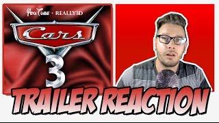 Trailer Reaction | Cars 3 Trailer 2 Extended Sneak Peak