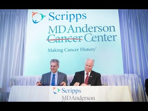Scripps MD Anderson Cancer Center Brings Leading Cancer Care to Patients