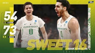 Oregon vs. UC Irvine: Second round NCAA tournament extended highlights