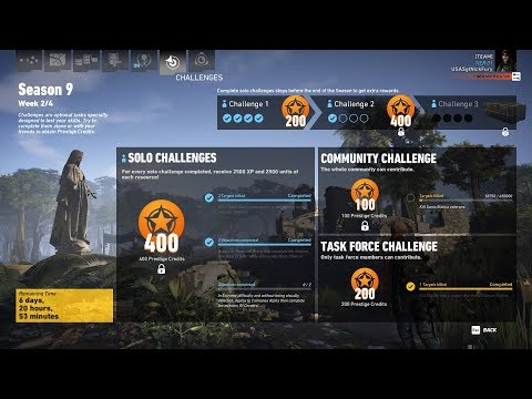Ghost Recon Wildlands Season 9 Week 2 Solo Challenge 2 |