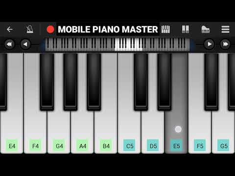 Ek Din Teri Raahon Me Piano|Piano Keyboard|Piano Lessons|Piano Music|learn piano Online|Piano