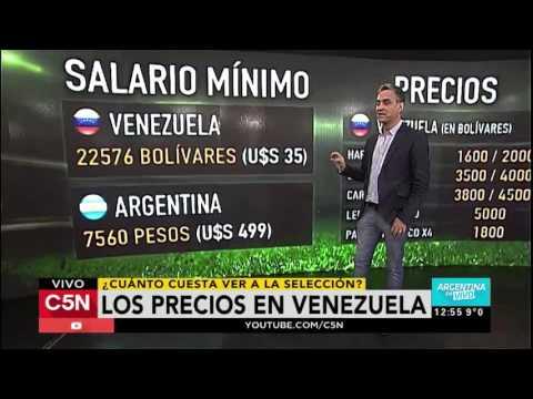 C5N - Rusia 2018: Los precios de las entradas en Venezuela
