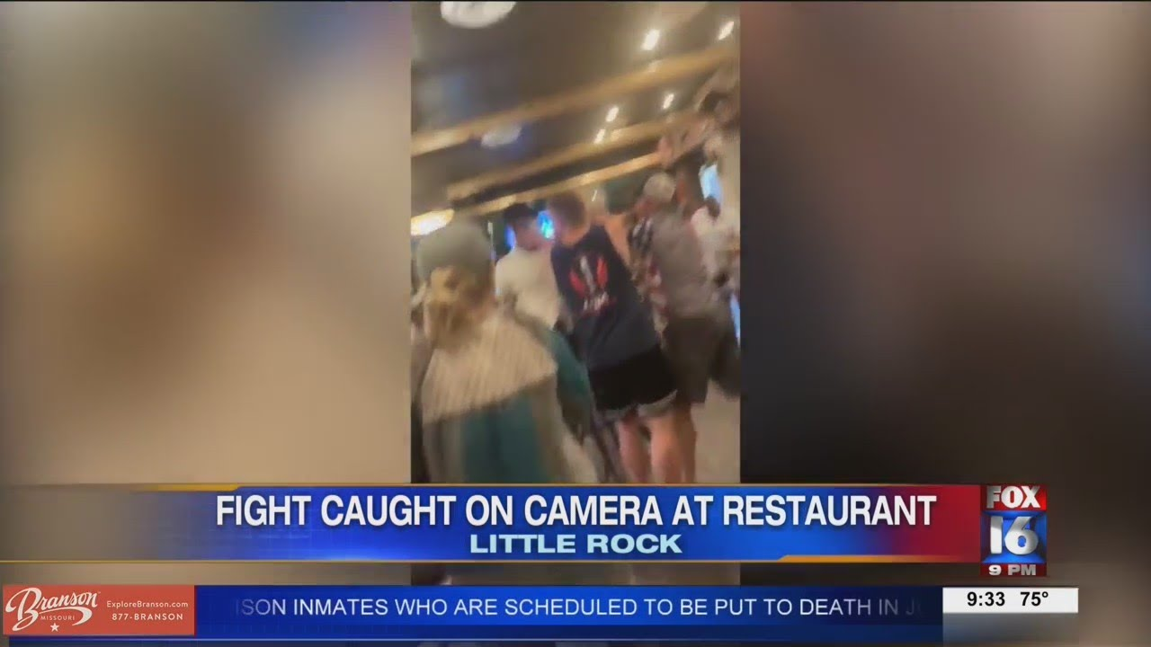 Download Brawl breaks out in Little Rock restaurant over lack of social distancing