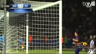 شاهد : بالفيديو أهداف مباراة برشلونة ويوفنتوس 3 1