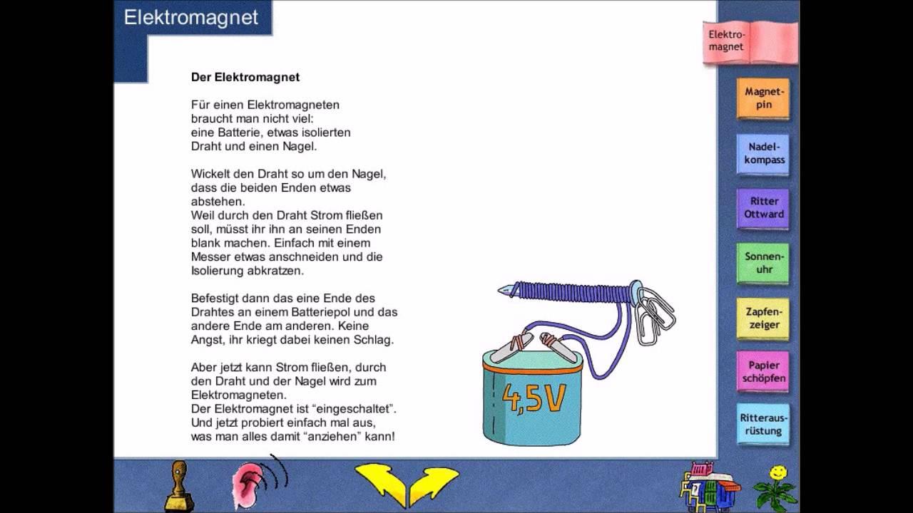 Let\'s Play] Löwenzahn 3 - Der Elektromagnet - Physik - Lernspielen ...