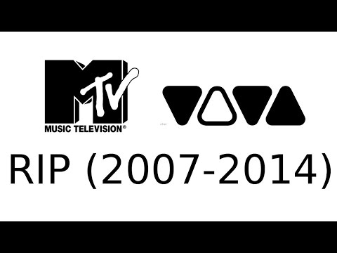 RIP Old VIVA and MTV (2007-2014)