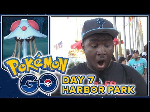 Pokemon GO Vlogs! - Part 7 - Harbor Park (Philadelphia Landmark Tour)