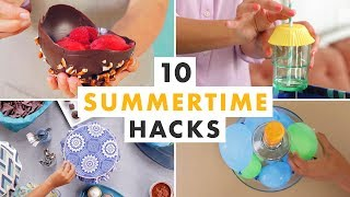 10 Diy Hacks For Summer   Hgtv Handmade