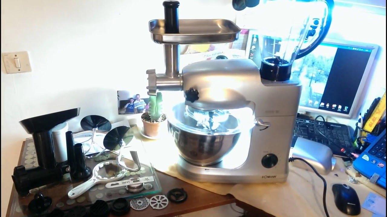 Bomann KM 367 CB Robot da cucina con impastatrice planetaria e ...
