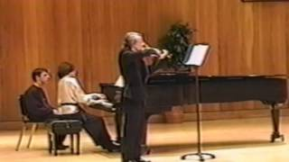 Brahms Sonata for Violin and Piano - Andante, un poco adagio.wmv
