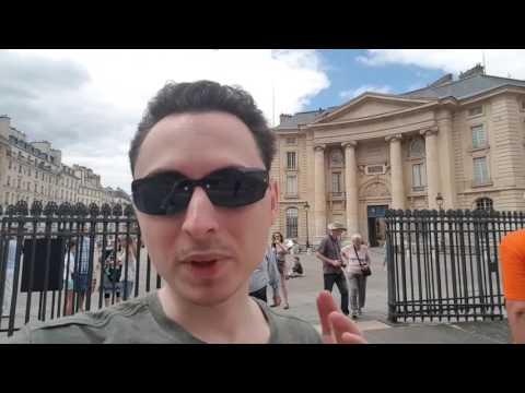 França 2017 - Paris - Dia 2 - Jardins de Luxemburgo, Marie Curie, Sorbonne