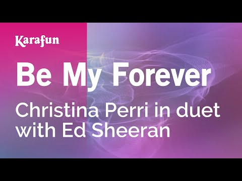 Karaoke Be My Forever  Christina Perri *