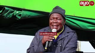 "RC Mwanri ageukia Bodaboda ""Mkong'oto, tikitaka kama Tyson, wodi ya bodaboda"""