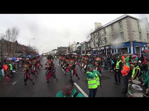 St. Patrick's Day 2017 street dancing by KILDARE FILIPINO COMMUNITY