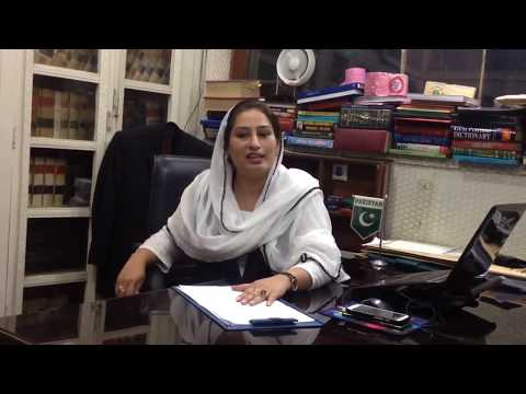 Female Family Lawyer Lahore Pakistan Syeda Feroza Rubab