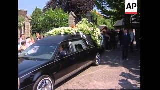 Funeral of two girls found dead after weeks of searching