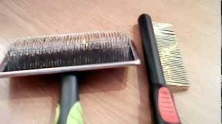Расчёски для собак :-)