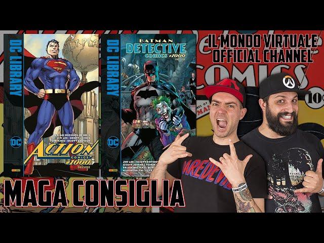 ACTION COMICS E DETECTIVE COMICS 1000! FUMETTI CHE HANNO FATTO LA STORIA!
