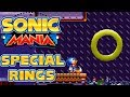 Sonic Mania - 5 Special Stage Rings in Flying Battery