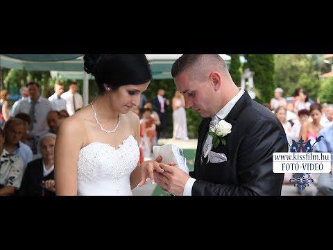 Enikő és Alex  esküvője (Hunyor Major Tanya, Nyírpazony)
