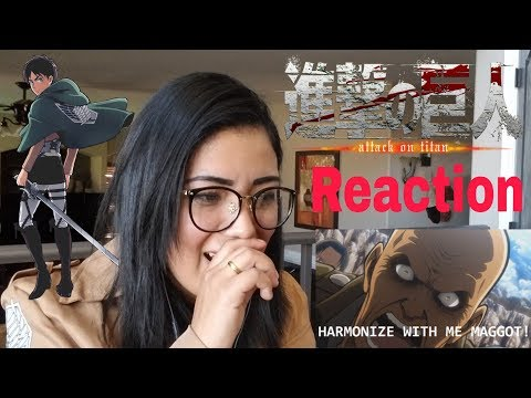 REACTION: Attack on Titan Abridged Episode 1