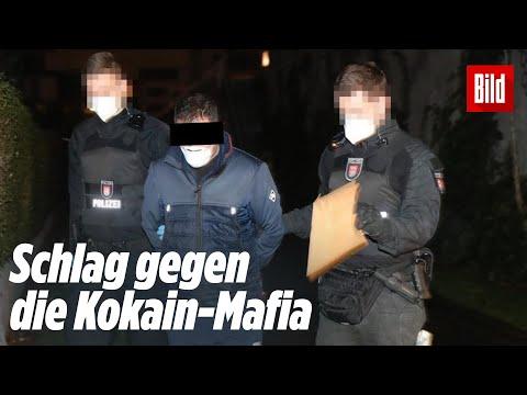 Hamburg: Durchsuchungen und Festnahmen bei Kokain-Mafia