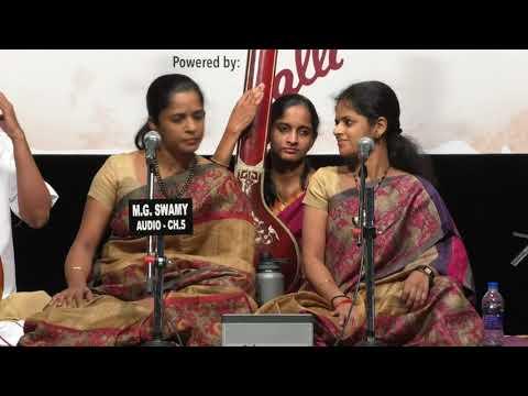 Pallavi Darbar 2018 l Akkarai Sisters l Carnatica & Sri Parthasarathy Swami Sabha