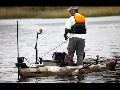 Jackson Kayak Big Rig and Kilroy with the Power-Pole Micro Anchor!
