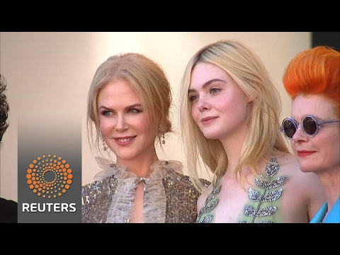 Nicole Kidman walks red carpet with latex-clad cast in Cannes