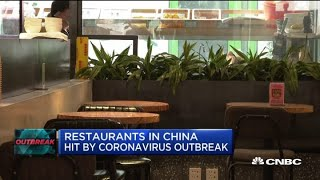 Restaurants in China hit by coronavirus outbreak
