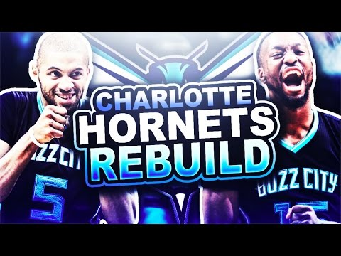 REBUILDING THE CHARLOTTE HORNETS! NBA 2K17 MY LEAGUE