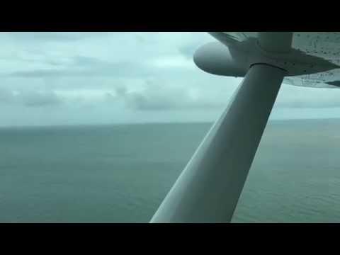 TAKEOFF!  Tropic Air Flight from Dangriga, Belize to Belize City, Belize