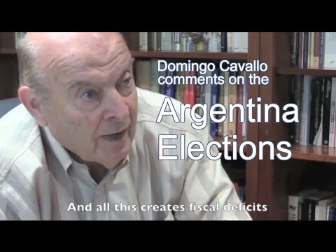 Domingo Cavallo Comments on 2015 Argentine Elections