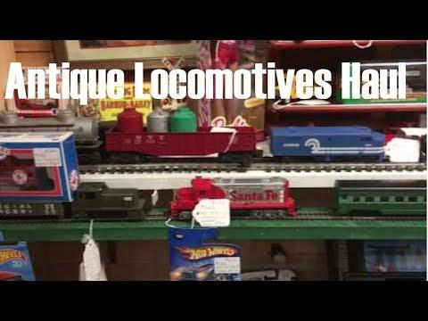 Antique Store Ho Locomotives Haul