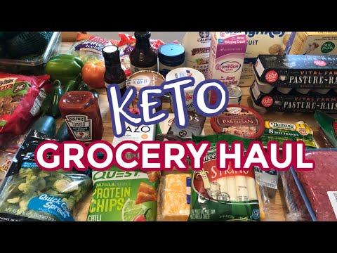 Weekly Keto Grocery Haul