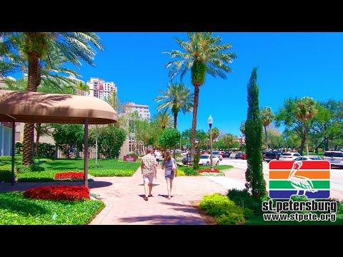 St. Petersburg Florida | Walking Tour