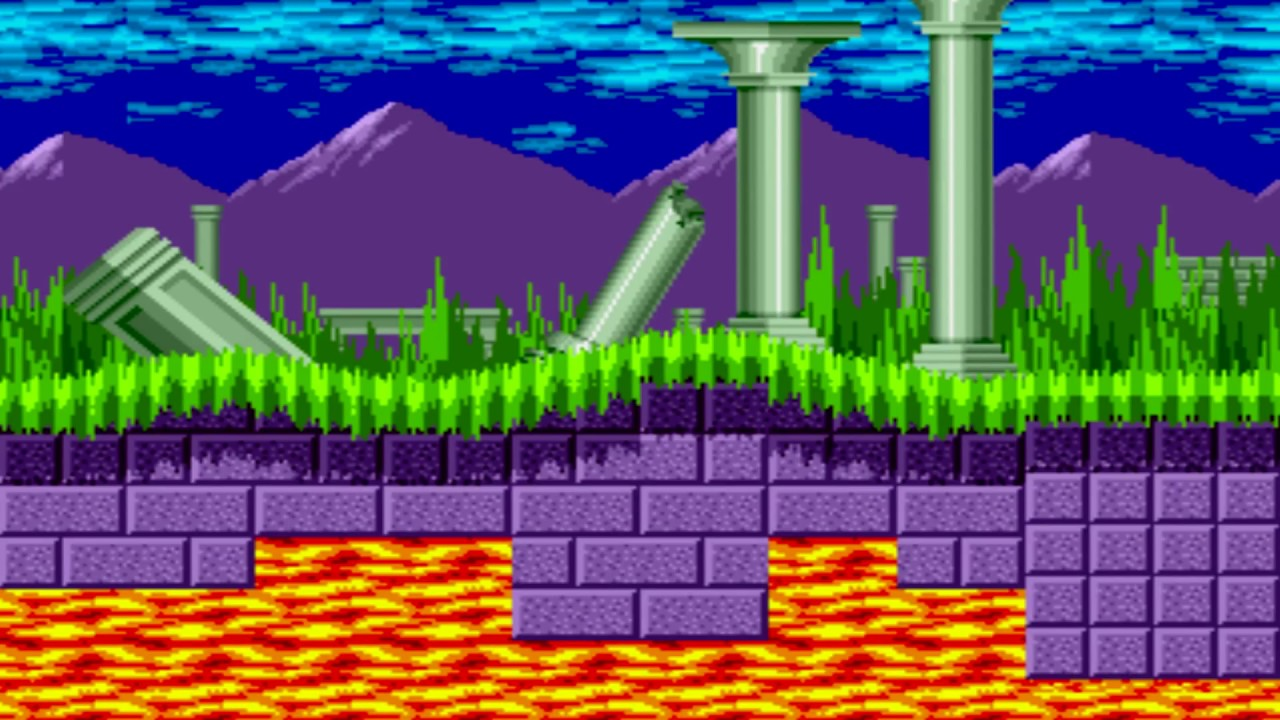 Sonic The Hedgehog Marble Zone Snes Remix Youtube
