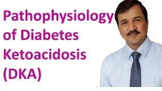 Pathophysiology of Diabetes Ketoacidosis (DKA)