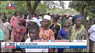 KWARA PDP  REJECTS REP BYE ELECTION AS APC CELEBRATE VICTORY...!