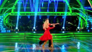 Pamela Stephenson & James Jordan - Salsa - Strictly Come Dancing - Week 2