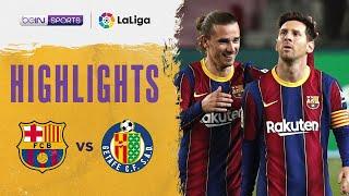 Barcelona 5-2 Getafe   LaLiga 20/21 Match Highlights