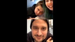 Dani Cimorelli and Emmyn Calleiro Talking To A Fan and Their Dad On Instagram Livestream (1/01/20)