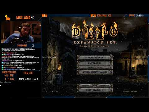 Diablo 2 - Holy Grail Sorc (12/04/2019)