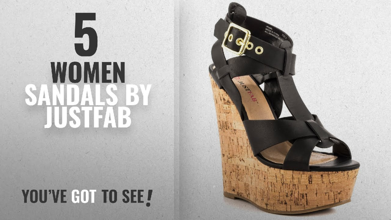 f2913fdabec2 Top justfab women sandals justfab pearl black youtube jpg 1280x720 Justfab  shoes sandals