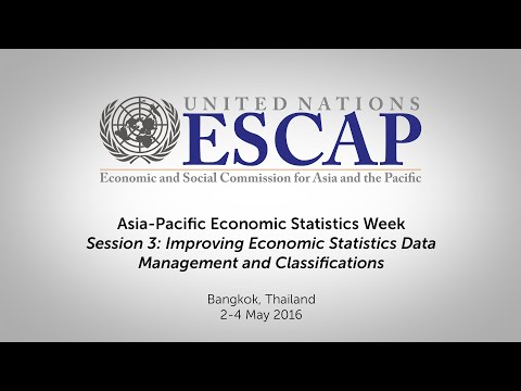 Asia-Pacific Economic Statistics Week - Session 3