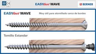 """""""EASY fast WAVE"""" Nueva generación de  Tornillería Rosca Madera"""