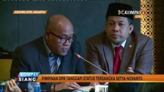 Setya Novanto Tanggapi Status Tersangka Dugaan Korupsi e-KTP
